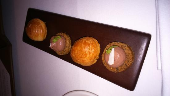 The Peat Inn : Amuse buouch - I was not amused