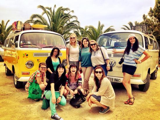 Vintage Tours Day Tours : Elisabeta y amigas en nuestro Vintage tour y Albufera.