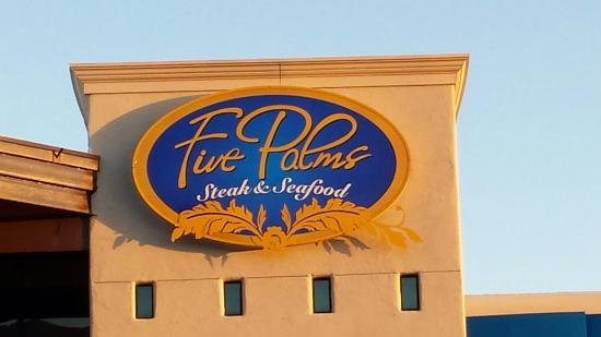 Five Palms Steak and Seafood