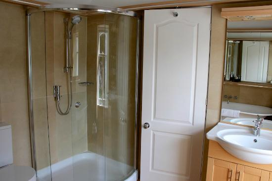 The shower cabin - Picture of The Grange, Fort William - TripAdvisor