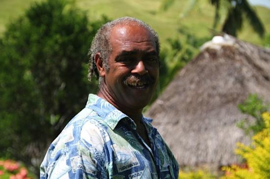 Bulou's Eco-Lodge: Tui, your wonderful host