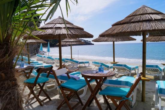 Le Rayol-Canadel, France : Boukarou Beach au matin