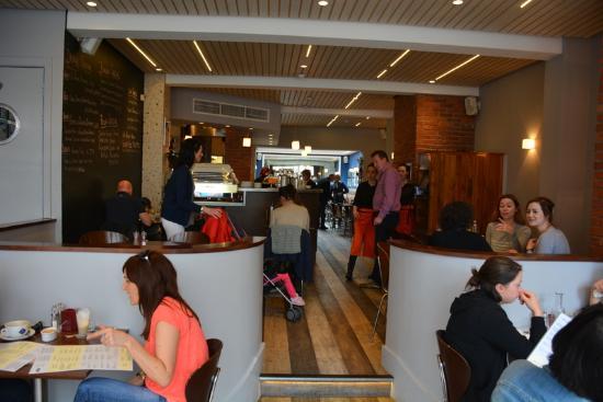 Gotham Cafe: Interior of cafe