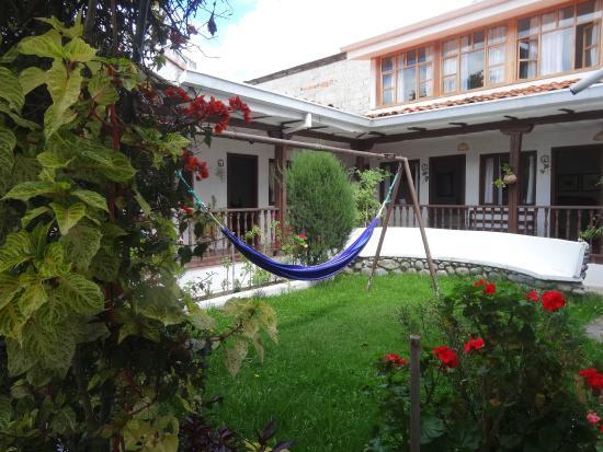 Hostal Macondo: jardin