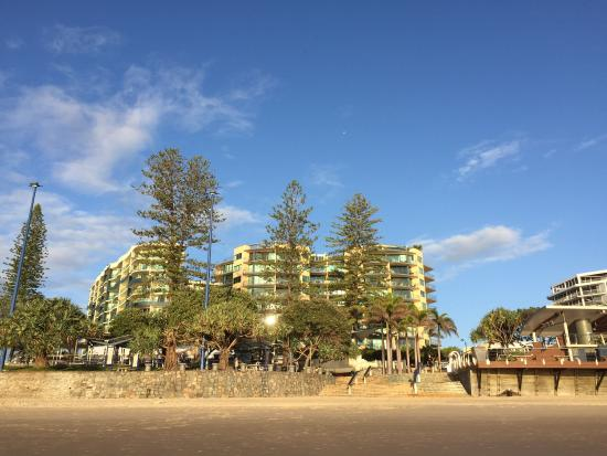 Peninsular Beachfront Resort: From the beach