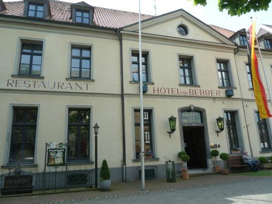 Hotel Van Bebber: The front of the hotel