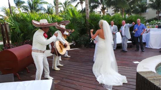 Dreams Riviera Cancun Resort Spa Tail Hour After Wedding