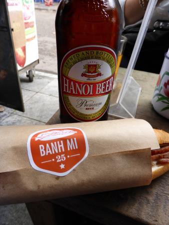 banh mi beer ハノイ バインミー25の写真 トリップアドバイザー