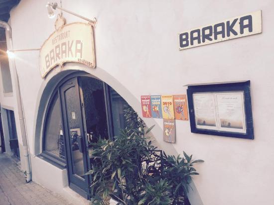 La Baraka: L'entrée