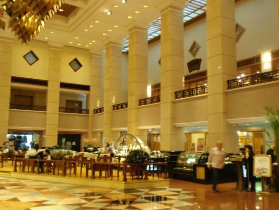 Xiyuan Hotel Lobby And Breakfast Area