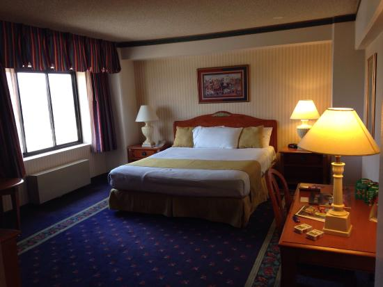 Circus Circus Hotel and Casino-Reno: My deluxe king bed room in North Tower