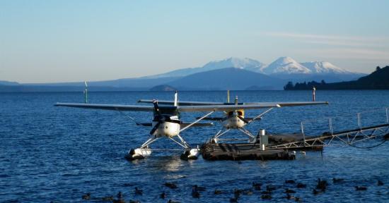 Taupo's Floatplane: Lets go