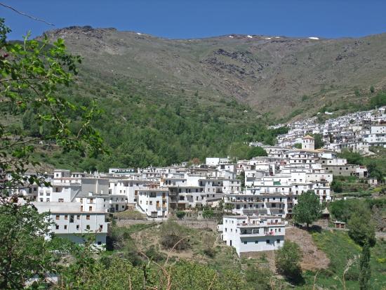 La Fragua: View of Trevelez