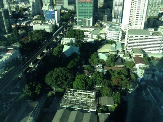 Foto de eastin grand hotel sathorn bangkok view from for 100 floors 28th floor