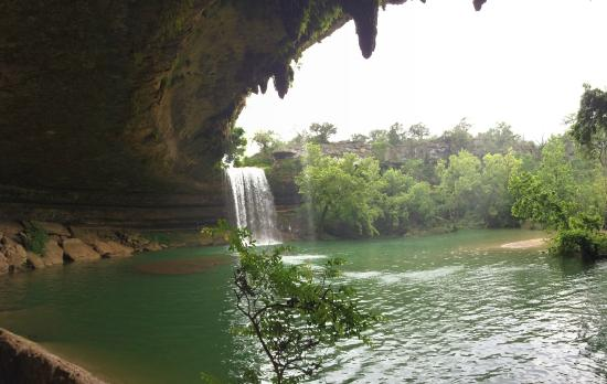 Dripping Springs, Τέξας: やはりこのアングルが一番