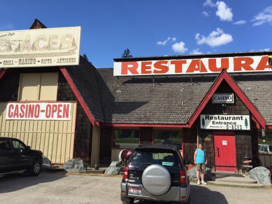De Borgia, MT: Best steak and shrimp for 100 miles around.