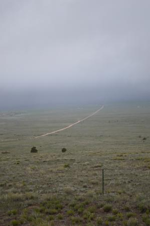 Moffat, CO: The road in.. 7 miles of dirt