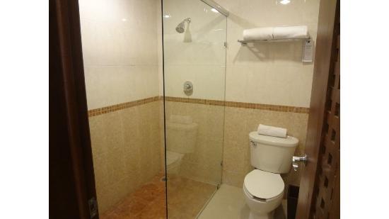 Wyndham Merida: baño