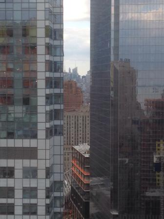 View uptown from room 4310
