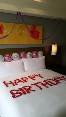 Renaissance Johor Bahru Hotel Birthday Room Decorations For My Girl