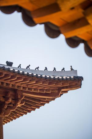 Traditional Korean Style Roof Tile Picture Of Gyeongwonjae