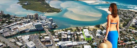 Space Holiday Apartments: Aerial View of Cotton Tree