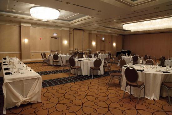 The Baronette Renaissance Detroit Novi Hotel Function Space Where We Had Our Reception