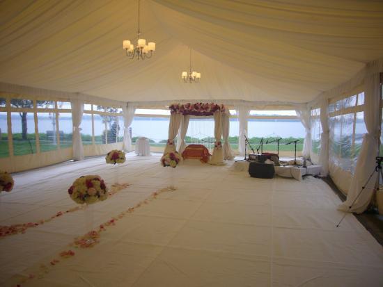 Woodmark Hotel Still Spa Tent For Sikh Wedding
