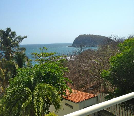 Villas Fa-Sol : A view from the terrace at our room...