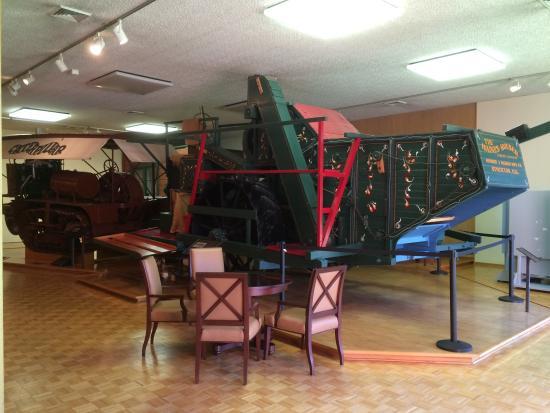 The Haggin Museum: Restored Catepillar farming equipment