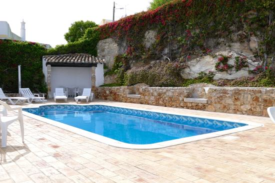 The Boliqueime Inn: The secluded pool area