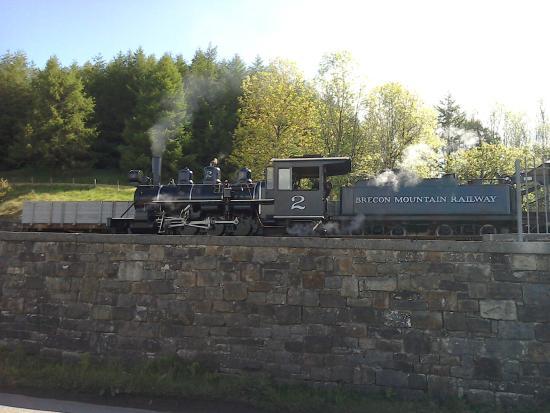 River Taff: Brecon Mountain Railway