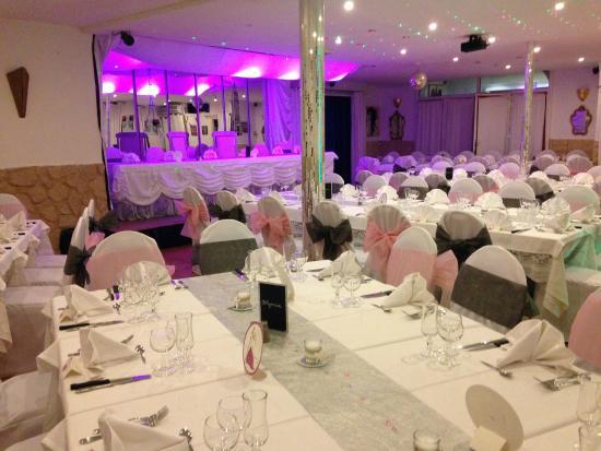 Restaurant Chez Fanny : Salle mariage