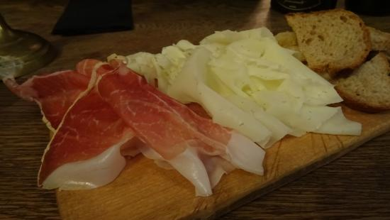 Pavarotti & Friends: Culatello etc.