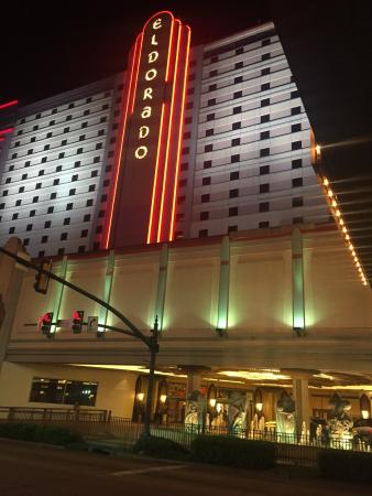 Eldorado Resort Casino: Looks nice from the outside. Not bad to walk the streets around the building like down Texas at
