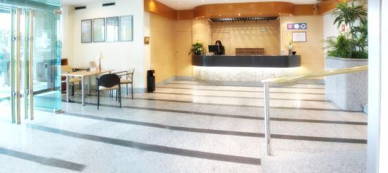 Hotel Parquesur: Recepción