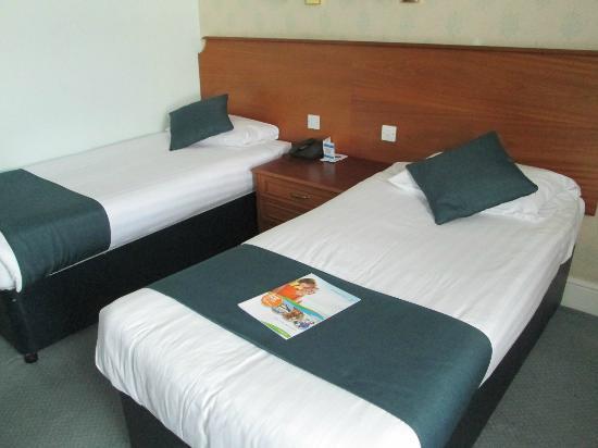 TLH Victoria Hotel : Schlafbereich