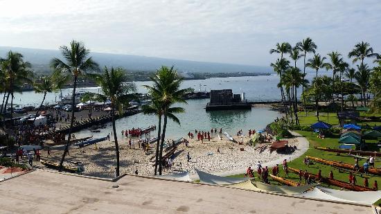 Courtyard King Kamehameha S Kona Beach Hotel Picture Of Courtyard