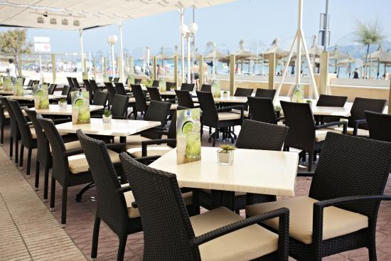 Grupotel Picafort Beach: Terraza