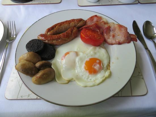 Standingstone Farmhouse Bed and Breakfast: Breakfast: the 'works'