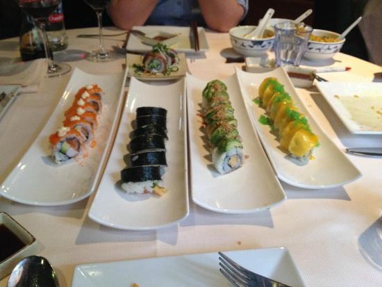 Dragon Town: Des variétés de sushis