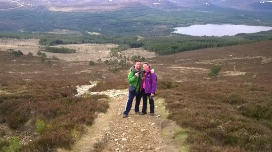 Having an amazing time with Up and Doon guided walks