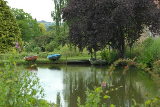 Batcombe Vale Campsite: Boating Lake