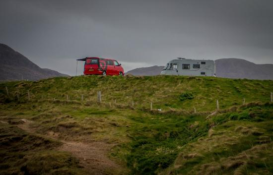Sango Sands Oasis: Our Campervan on the cliff tops