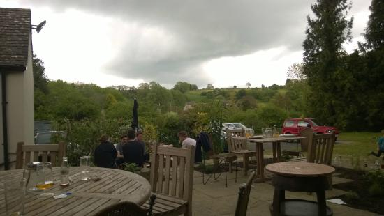 Seven Tuns: View from the terrace