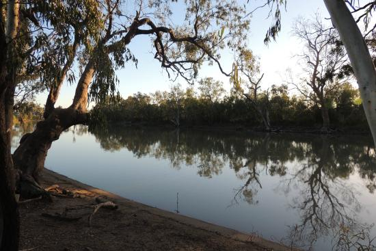 Goondiwindi, Australia: Early morning solitude