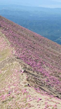 Takachiho Ridge: 御鉢斜面