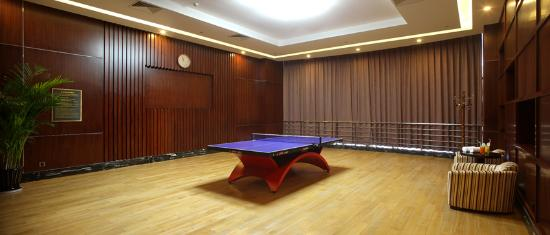 Table Tennis Room Picture of Wyndham Grand Plaza Royale Changsheng