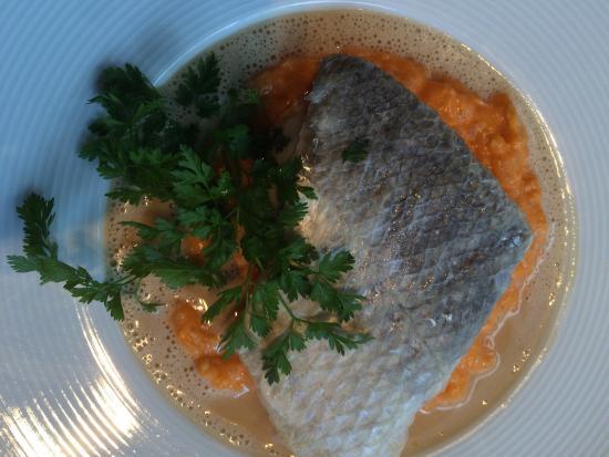 Le Capucin Gourmand : Plat poisson : risotto et bar