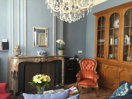Badkamer Meubel Hoek ~ Kamer beneden stijlvol  Foto van Ganda Rooms & Suites, Gent